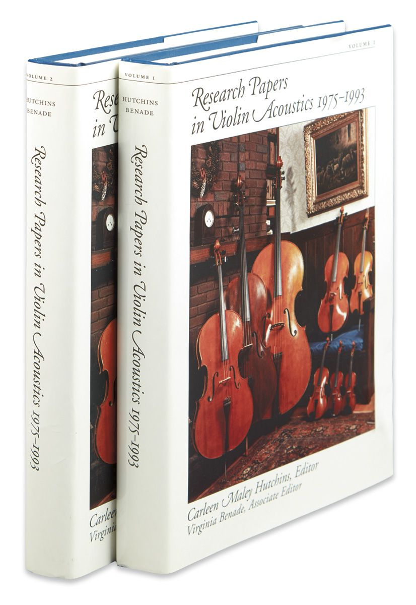 Research Papers in Violin Acoustics 1975-1993