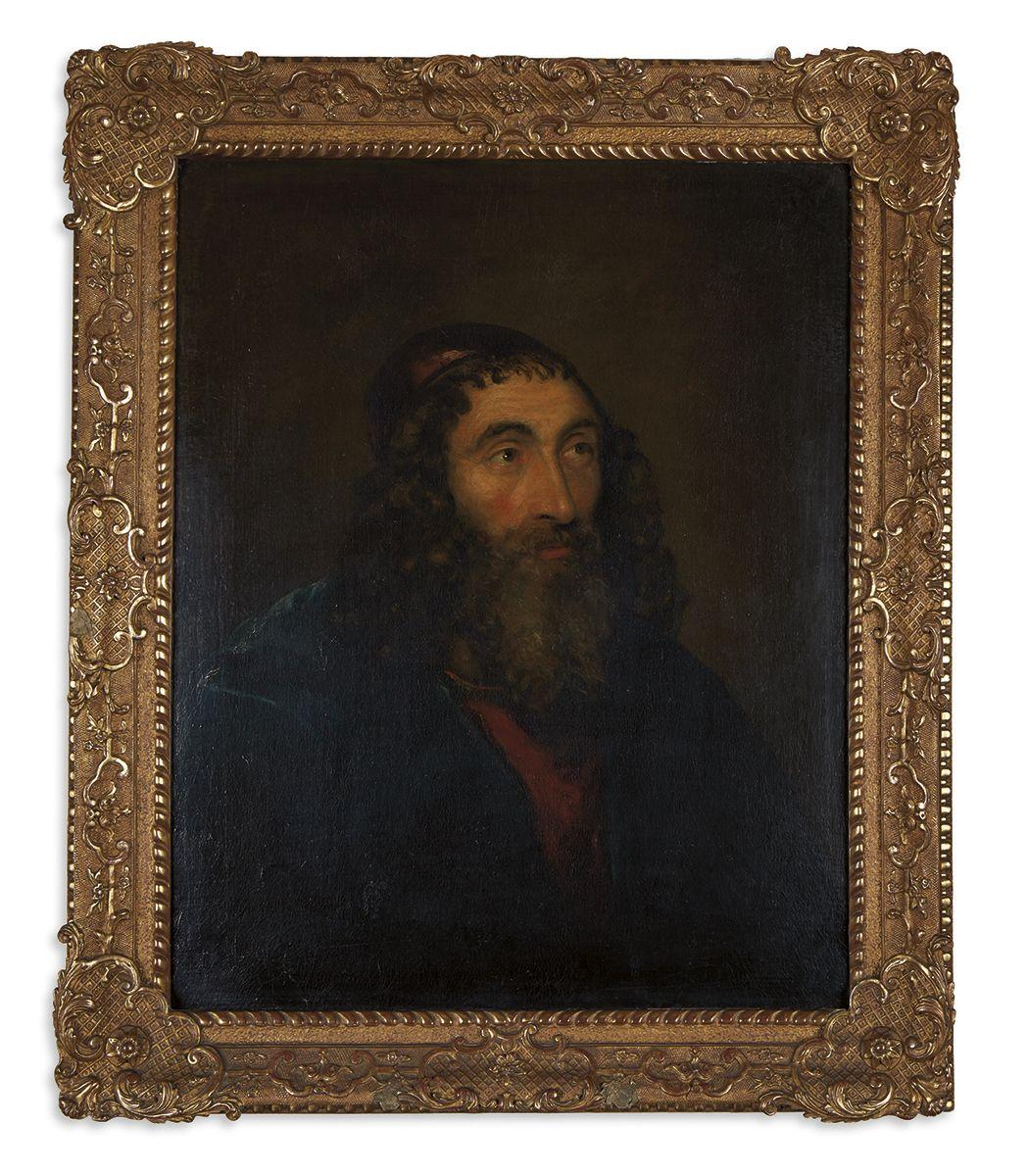 Half-length portrait of a Bearded Rabbi.