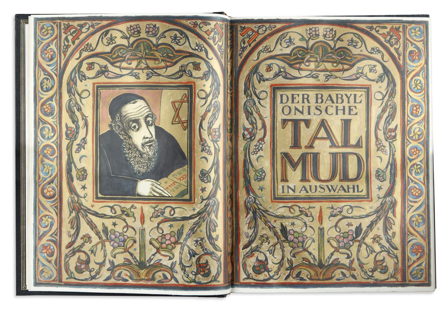 Der Babylonische Talmud in Auswahl. Text by Jakob Fromer.