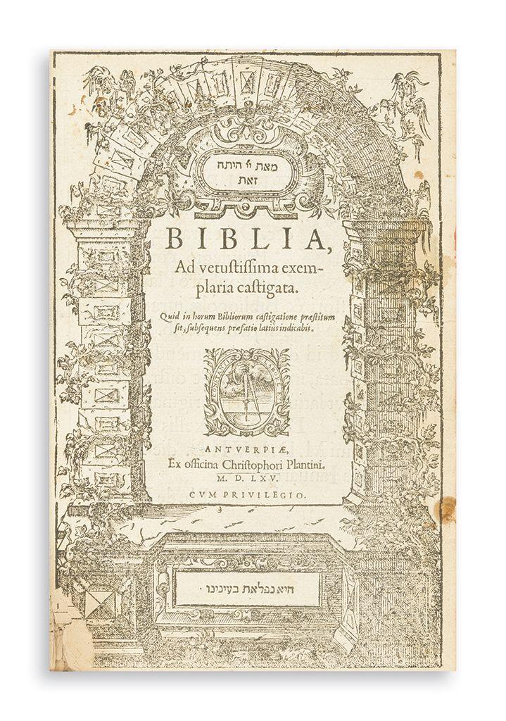 Latin). Biblia