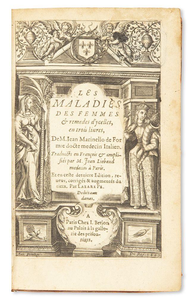 Jean Marinello. Les Maladies des Femmes.