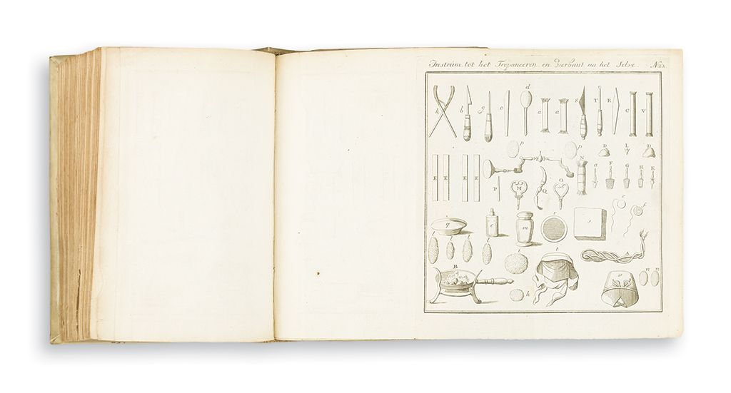 "Pierre Dionis. Verhandeling van Alle de Chirurgicale Operatien [""The Principles of Surgery.""]"