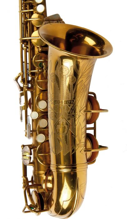 C G  Conn, Elkhart, 1941, serial number 291903, with
