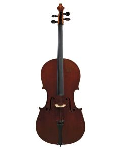 C. 1920, labeled FRANT BOCEK/ SCHONBACH…, length of two-piece back 75.8 cm.
