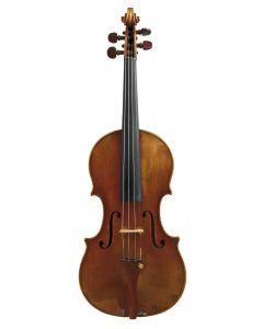C. 1924, labeled FERDINANDO GAGLIANO…, length of one-piece back 354 mm.