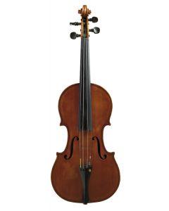 C. 1900, labeled GEORGIO DI BIASIO/ FABBRICANTE DI VIOLINI/ FECE IN BARI 1909, length of one-piece back 354 mm.