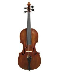 C. 1875, labeled FERDINANDUS AUGUST HOMOLKA/ FECIT PRAGUE 18??, length of one-piece back 358 mm.