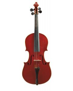 C. 1920, labeled ANTONIUS STRADIVARIUS… length of two-piece back 356 mm.