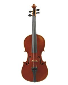 Labeled JULIUS HEBERLEIN'S AMATI/ MANUFACTURED OLIVER DITSON COMPANY…, length of one-piece back 332 mm.