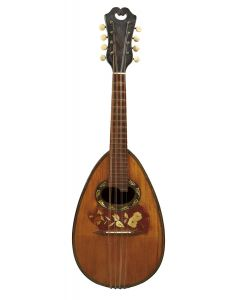 Labeled G PUGLISI-REALE AND FIGLI… CATANIA, the 21-rib rosewood back.