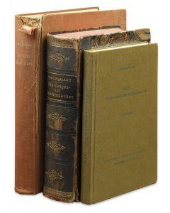Albert, Fuchs, Taxe der Streichinstrumente; Möckel, Otto, Kunst des Geigenbaues; von Lütgendorff, Willibald, Die Geigen und Lautenmacher.
