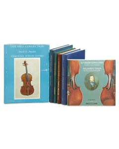 Laurie, David, The Reminiscences of a Fiddle Dealer; Pickering, Norman, The Violin World; Fairfield, John, Known Violin Makers;