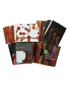 Bonhams; Christie's; Tarisio; Skinner; Gardiner Houlgate; Gliga String Instruments.