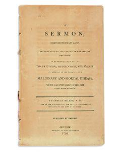 SamuelMiller. A Sermon, Delivered February 5, 1799