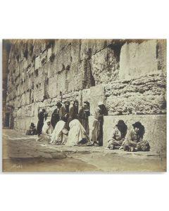"Jerusalem, Mur ou les Juifs vont pleurer [""Jerusalem, Wall Where the Jews Go to Cry.""]"