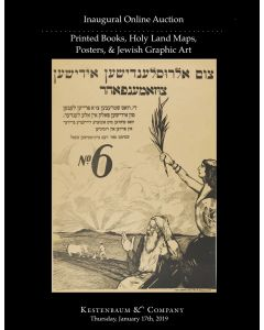 Online Auction: Printed Books, Holy Land Maps,  Posters, &   Jewish Graphic Art