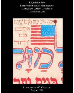 K2 Judaica Sale: Rare Printed Books, Manuscripts, Autograph Letters, Graphic & Ceremonial Arts
