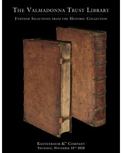 The Valmadonna Trust Library: Further Selections from the Historic Collection. * Hebrew Printing in America. * Graphic & Ceremonial Art