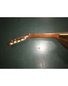 C. 1910, probably Lyon & Healy for Oliver Ditson Company, the 17-stave back, scale length 13 3/8 in.