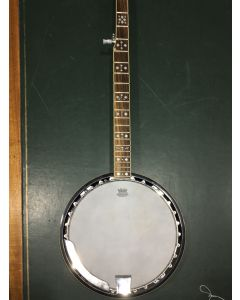 C. 1996, Cort Company for Fender, serial number KD02030326, scale length 27 i/2 in., diameter of head 11 in.