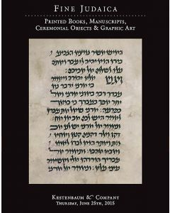 Fine Judaica: Printed Books, Manuscripts, Ceremonial Objects and Graphic Art