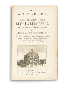De Vita et Rebus Gestis Mohammedis.