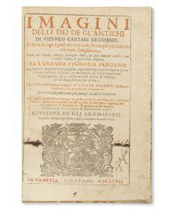 Imagini Delli Dei De Gl'Antichi.
