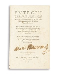 Historiae Romanae Breviarium.