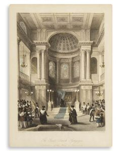 The Great Jewish Synagogue: Celebration of the Feast of Tabernacles.