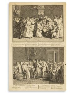 Group of six engravings: From Bernard Picart's The Religious Ceremonies and Customs of All the Peoples of the World