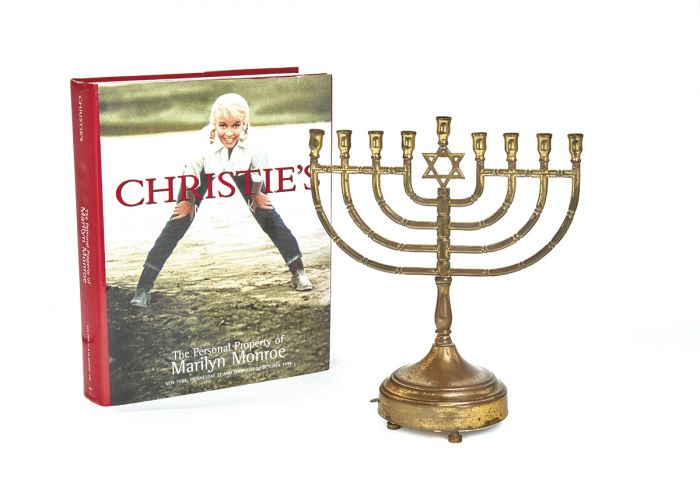 You can buy Marilyn Monroe's menorah for $150,000
