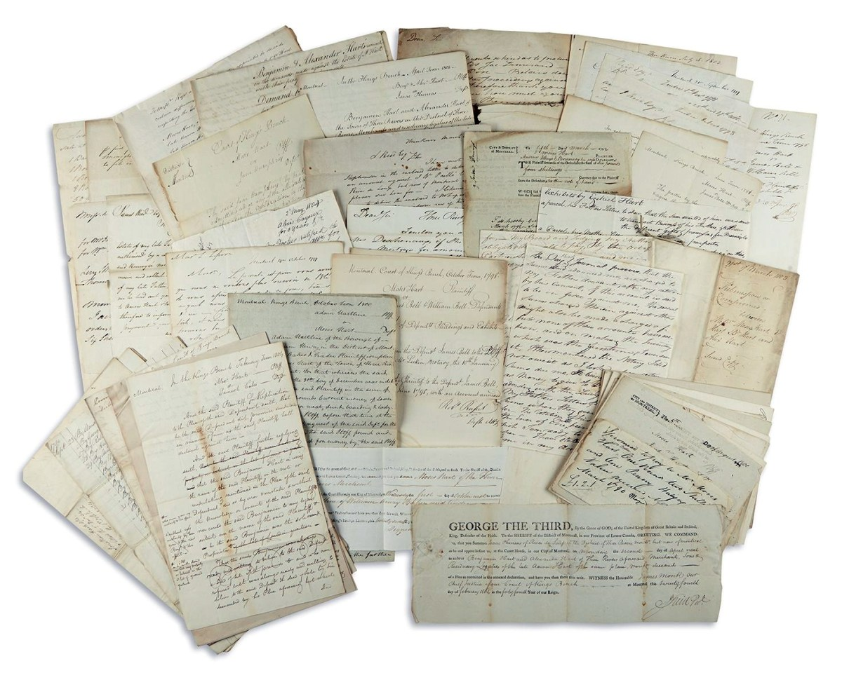Rare Hart Family Documents to be Auctioned