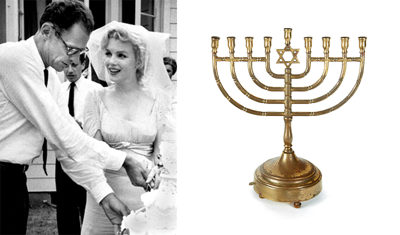 Marilyn Monroe's Menorah Sells For More Than $112,000