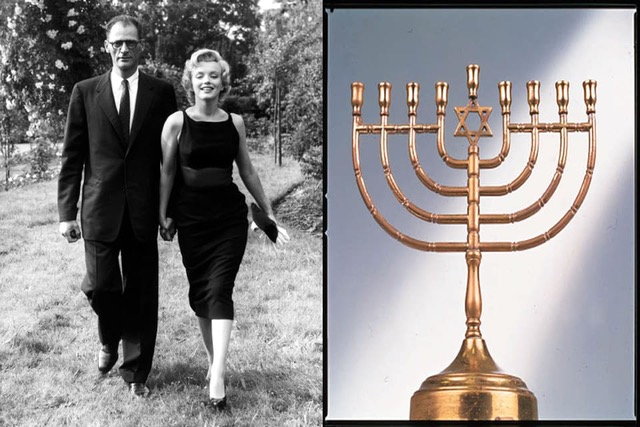 A Light That Shines Today, Marilyn Monroe's Menorah On Auction